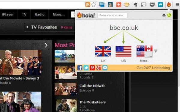Say Hola to UK TV/Radio Unblocker
