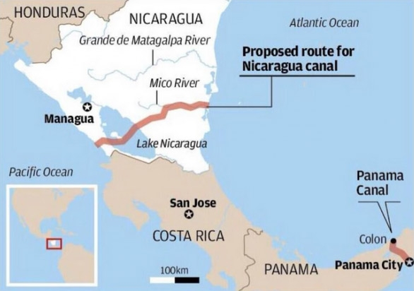 The Nicaraguan Canal – Friend or Foe?